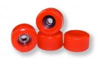 Roly Poly Räder rot, mit ABEC5 Kugellager
