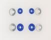 Silikon Lenkgummis, blau